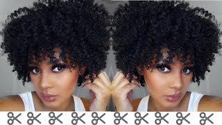 Watch Me Cut & Shape Life Back Into My Natural Hair thumbnail