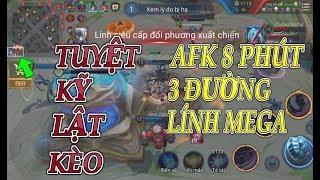 BATMAN MSuong - Trận Đấu Hư Cấu Khó Tin   AFK 8 Phút mất 3 Đường Lính Mega