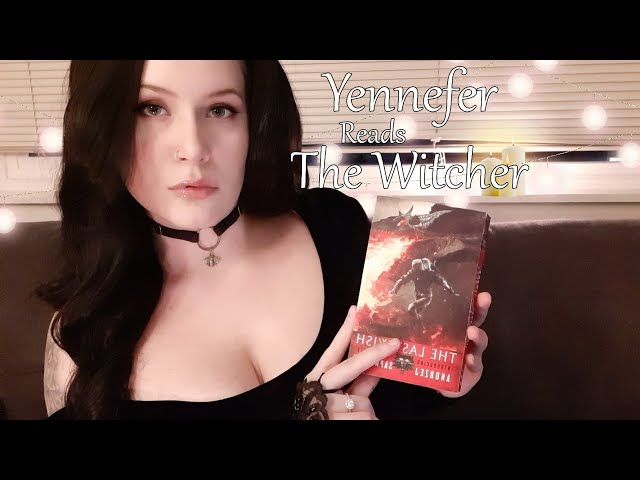Yennefer of Vengerberg Reads The Witcher 🐺 - ASMR Roleplay