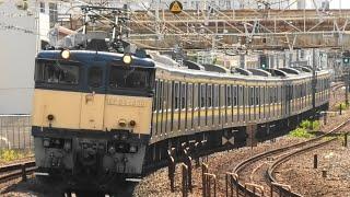 千マリ209系 廃車回送 2021 4/22,28 総武線、新金線にて