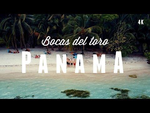 PANAMA 2017 - Adventure in Bocas del Toro and Panama City (4k & DRONE)
