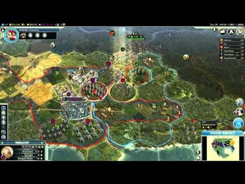 Let's Play Civilization V - Sejong #2d Allies Appear |