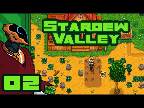 Weed-Whacker Supreme - Let's Play Stardew Valley - Gameplay Part 2