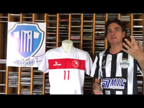 Brasília 2015 e a contribuição de Brasília às camisas de futebol - Vestiário - Iuri Godinho