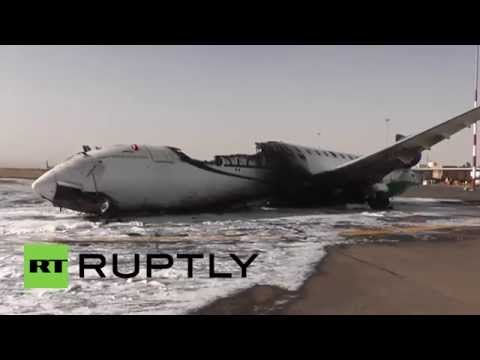 Yemen: Airstrikes hit passenger planes at Sanaa's International Airport