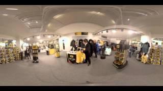 360-Degree Video: Cat® Merchandise Store at bauma Munich 2016