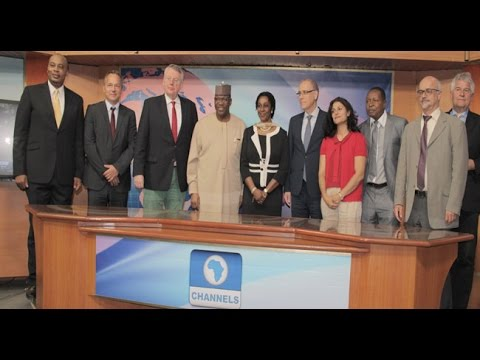 Channels TV Signs Broadcast Partnership With Deutsche Welle‎ TV -- 17/07/15