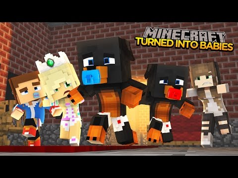 Minecraft - Donut the Dog Adventures -BABIES TRAPPED IN THE ORPHANAGE!!!!