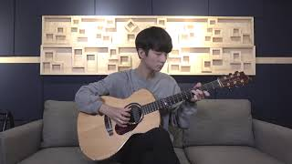(Stephanie Poetri ) I Love You 3000 - Sungha Jung