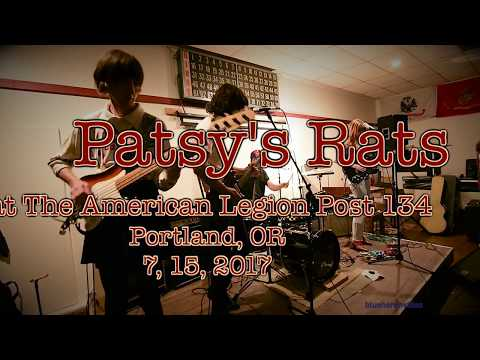 Patsy's Rats  at The American Legion Post 134  -Full Set