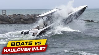 WARNING: THIS DIDN'T END WELL! | Boats vs Haulover Inlet