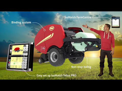 Vicon FastBale / Fixed Chamber Baler-Wrapper combinations / Baler ...