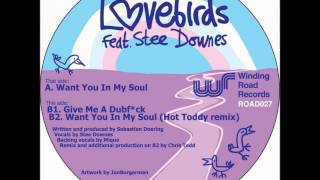 Lovebirds feat. Stee Downes - Give Me a Dubf*ck