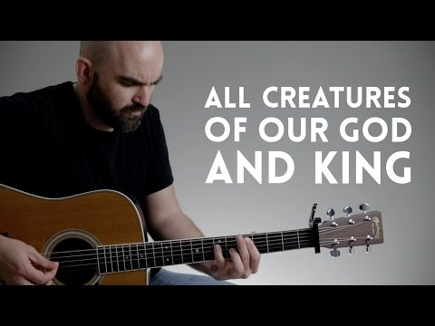 how to play how great is our god on guitar