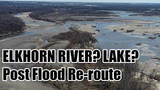 FDWB - 4/3/19 Post-Flood - Elkhorn River rerouting