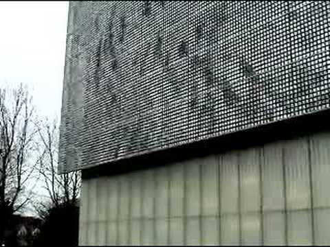 technorama facade by ned kahn youtube. Black Bedroom Furniture Sets. Home Design Ideas