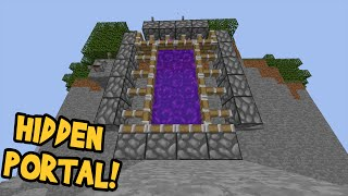 How to Make a Portal to the SUN in Minecraft (No Mods)
