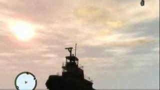 Tug Boat Blowing Up (GTA4)