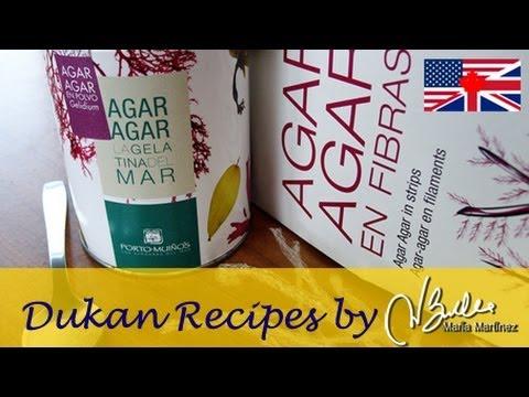 agar agar diet recipe