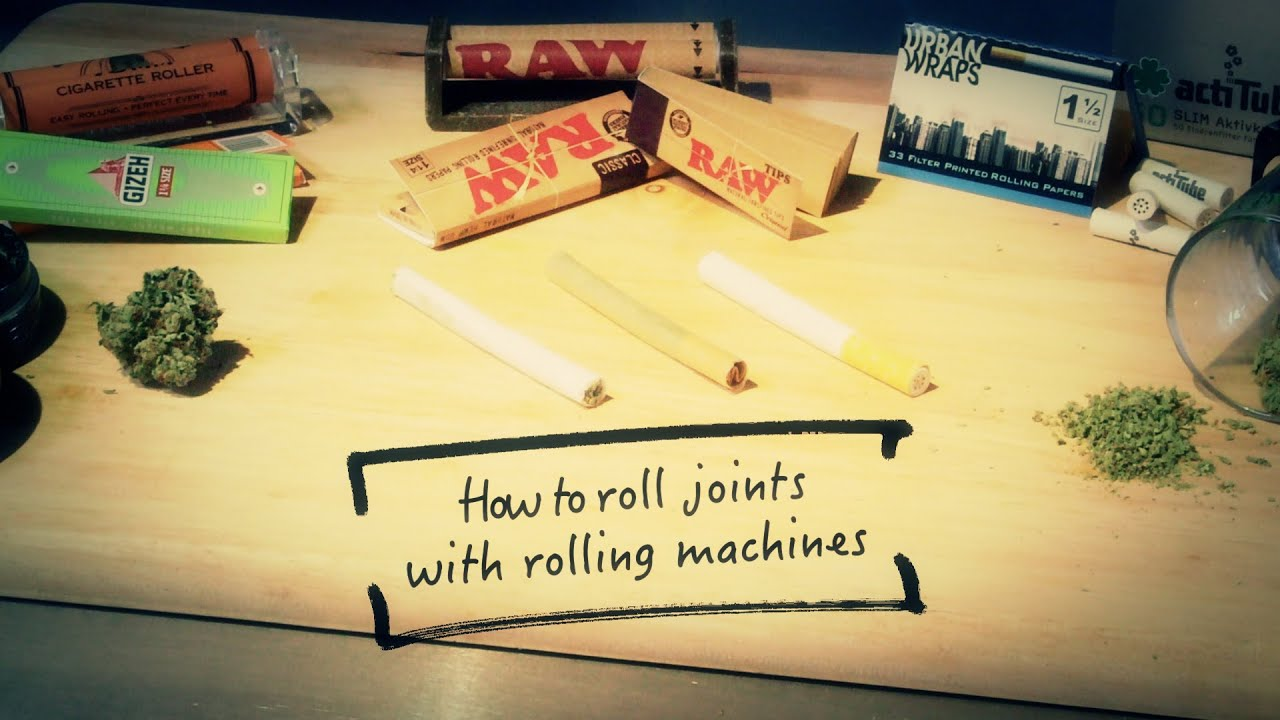 marijuana rolling machine
