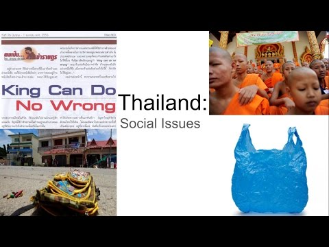 Thailand: Social Issues
