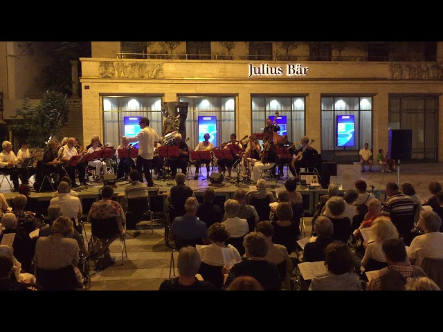 Giovan sona i campan - Piazza San Carlo Lugano agosto 2019