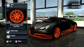 Bugatti tuner and dealership location Test Drive Unlimited 2