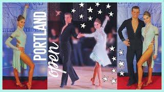 Ballroom Dance Competition ~ vlog ~ Portland Open 2019