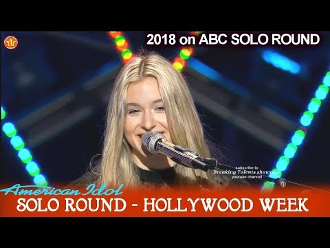 """Harper Grace emotional Original song """"Rest in Peace"""" Solo Round Hollywood Week American Idol 2018"""