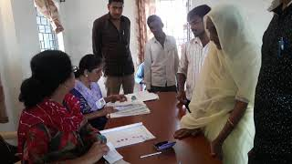 उज्जैन वीरेंद्र शर्मा पुलिंग मतदान शिप्रा हॉस्पिटल वीडियो(18)