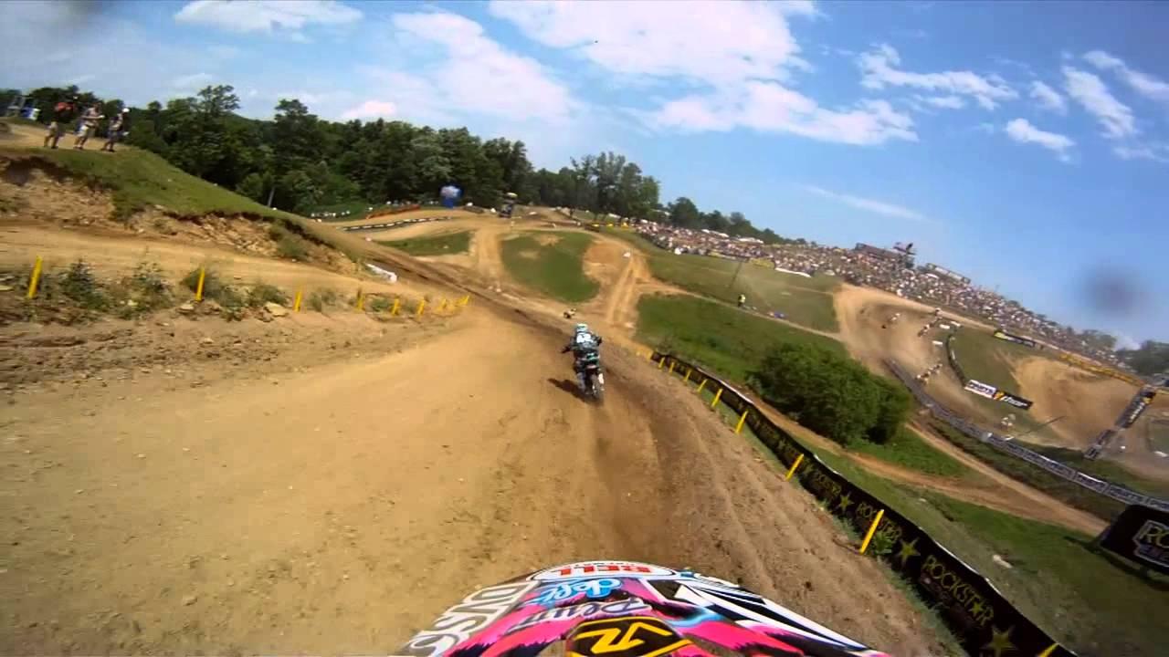 GoPro HD: Darryn Durham - High Point Lucas Oil Motorcross 2011 - Motor Informed