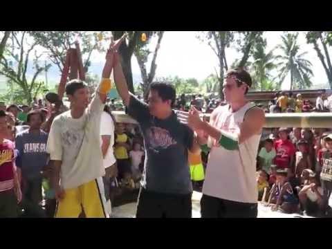 Extreme Filipino Fiesta Boxing - Human Spiderfight Boxing, Malitbog Bukidnon