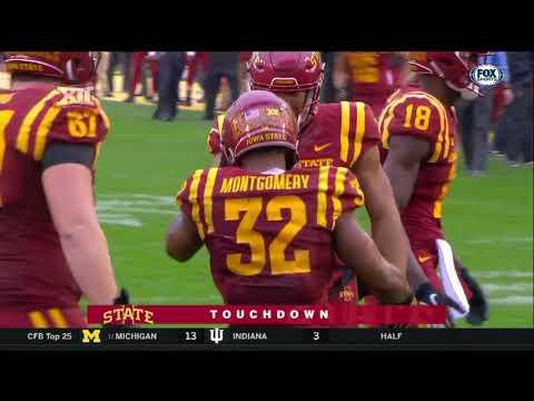 Kansas at Iowa State Football Highlights