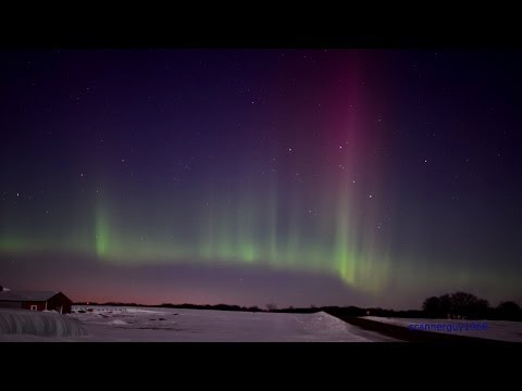 Northern Lights Aurora Borealis in HD