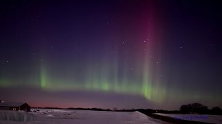 Northern Lights Midwestern United States View