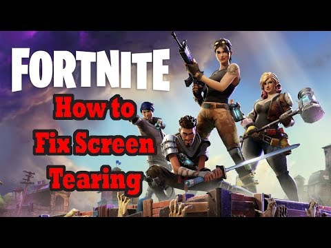 Fixing Screen Tearing in Fortnite - Fortnite Optimization Guide [pt:2]