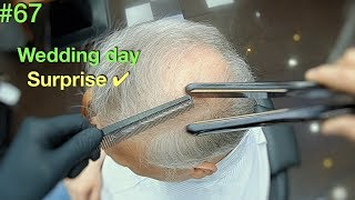 Wedding Surprise ✰ Wife's Reaction Should Be Amazing ✔︎ (Hairstyle for Men) Hair Building Fibers