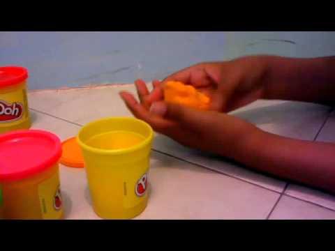 Como hacer un cono con plastilina play doh youtube for Como puedo hacer un cono
