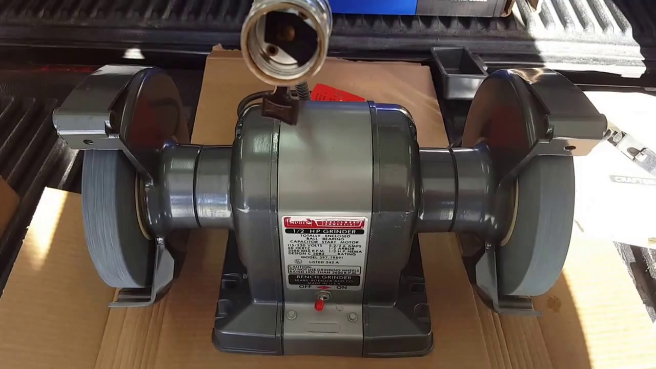 Craftsman Commercial Block Grinder 1 2 Hp 7 Quot 397 19591 New