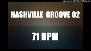 Nashville Groove 71 BPM - Drum Backing Track - Country 02