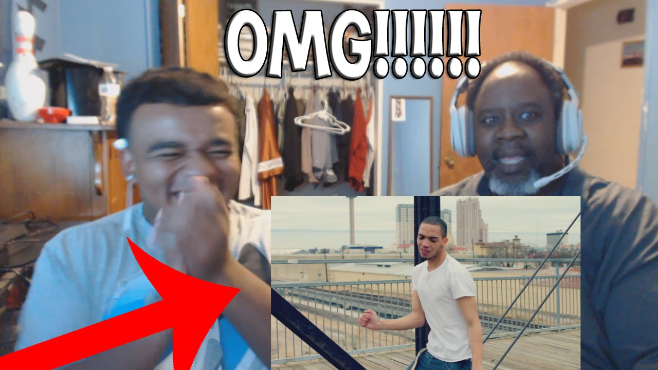 Dad Reacts to IceJJFish - On The Floor