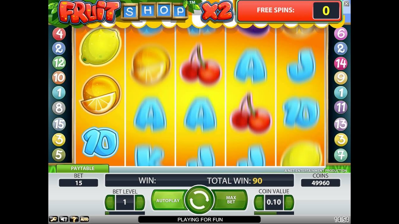 Slot gratis fruit shop