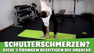 Schulterschmerzen / mit diesen 3 Übungen reduzieren Sie den Schmerz