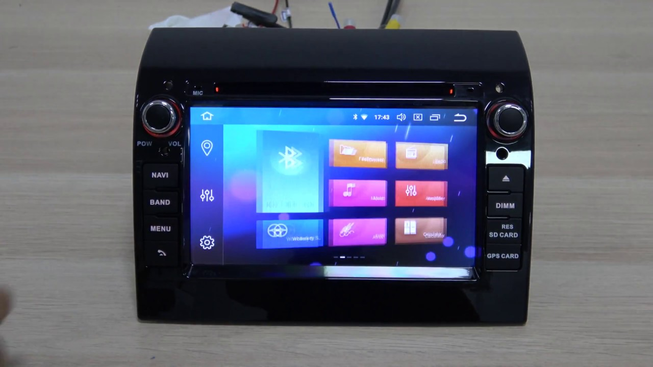 android car dvd for fiat ducato citroen jumper peugeot boxer auto stereo radio fm rds gps youtube. Black Bedroom Furniture Sets. Home Design Ideas