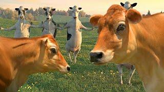 FUNNY COW DANCE 7 │ Nursery Rhymes & Kids Songs