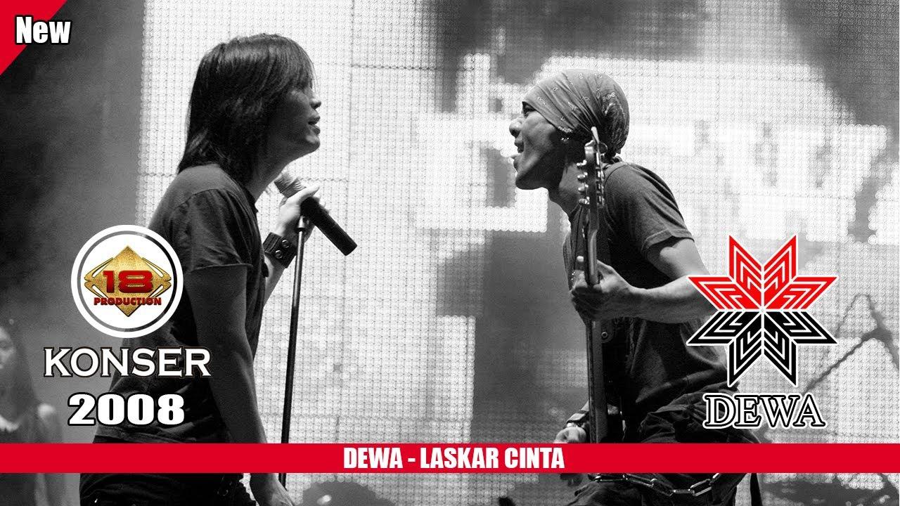 Dewa Laskar Cinta Live Konser Slawi 2008 Youtube Gambar