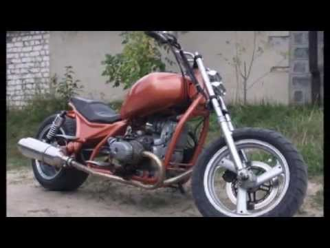 Фото переделанного мотоцикла урал