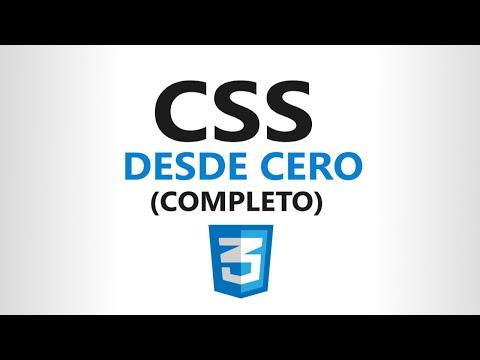 Curso de CSS desde CERO (Completo)