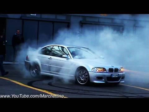 bmw m3 e46 burnout and donuts youtube. Black Bedroom Furniture Sets. Home Design Ideas