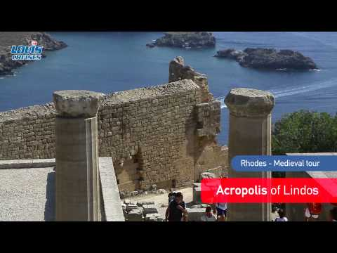 Medieval tour - Acropolis of Lindos and the Citadel of the Knights